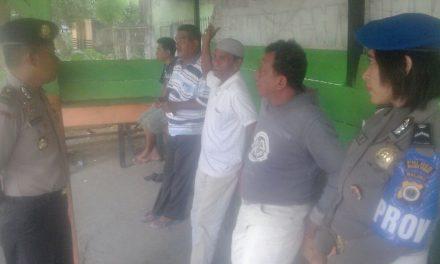 Sambangi Pangkalan Ojek, Ipda La Maru Kapolsek Kota Masohi, Ajak Jaga Kamtibmas