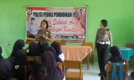"""POLISI PEDULI PENDIDIKAN (P3), """" SMP MADLAUL ANWAR"""