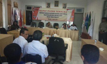 pengamanan rapat pleno terbuka penetapan pasangan calon Bupati dan Wakil Bupati terpilih dalam Pemilihan Bupati dan Wakil Bupati Kabupaten Maluku Tengah tahun 2017.