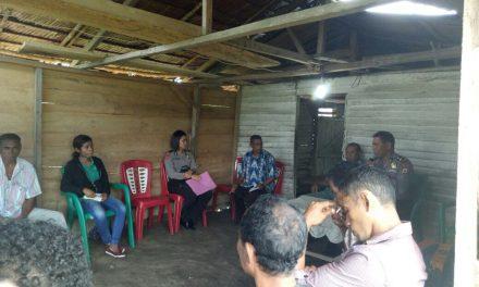 Sat Binmas Polres Malteng Melaksanakan Penyuluhan Antisipasi Paham Radikalisme dan anti Pancasila