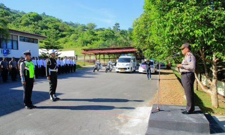 Apel Gelar Pasukan Dalam Rangka Operasi Zebra Siwalima 2017 Polres Maluku Tengah