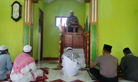 Gencar perangi HOAX!!!, Satuan Binmas Polres Maluku Tengah kembali gelar mimbar Jumat