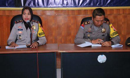 Anev Satgas Nusantara Polres Maluku Tengah