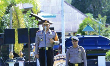 SIMULASI SISPAMKOTA PENGAMANAN PILKADA SERENTAK 2018 POLRES MALTENG