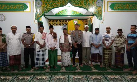 Safary Subuh Berjemaah Bhabinkamtibmas Polsek Kota Masohi