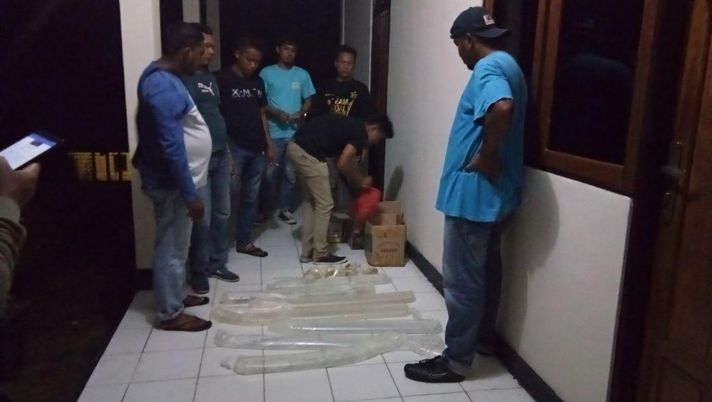 Cipta Kondisi Sat Narkoba Polres Maluku Tengah Sita Minumas Keras