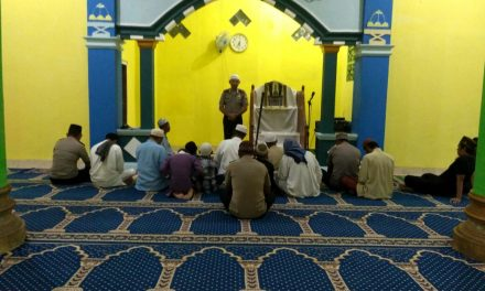 Arahan Kamtibmas Masjid At-Taqwa Kampung Jawa Negeri Wahai Kecamatan Seram Utara Kabupaten Malteng