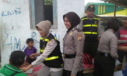 Bhakti kesehatan polri dalam rangka Satgas Nusantara Polres Maluku tengah