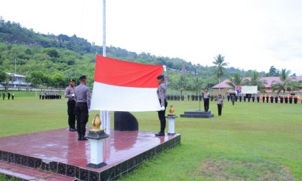Upacara Bendera Hari Kesadaran Nasional TNI-Polri Bersatu