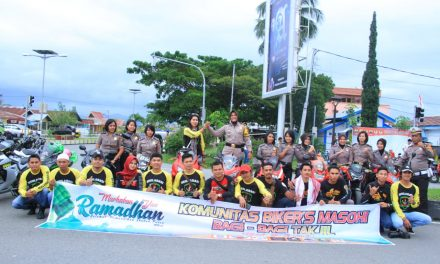 Pawai Keselamatan, Polres Maluku Tengah dengan Komunitas motor roda dua