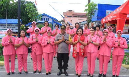 Pengecekan Pos Pam Operasi Ketupat Siwalima 2018 Polres Maluku Tengah