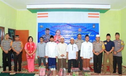 Polres Maluku Tengah bersama Bhayangkari Maluku Tengah melaksanakan giat Safari Ramadhan dan Buka Puasa Bersama di Pondok Pesantren Mambaus Sholihin Km 12