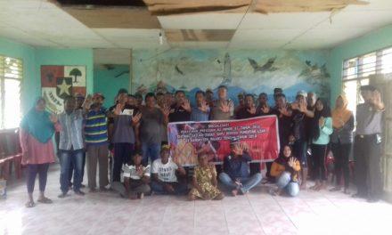 Sosialisasi Tim Satgas Saber Pungli Kabupaten Maluku Tengah di Negeri Pasahari Kecamatan Seram Utara Timur Kobi