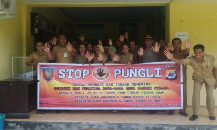 Sosialisasi Tim Saber Pungli Kabupaten Maluku Tengah di Kantor Dinas Tanaman Pangan dan Hortikultura