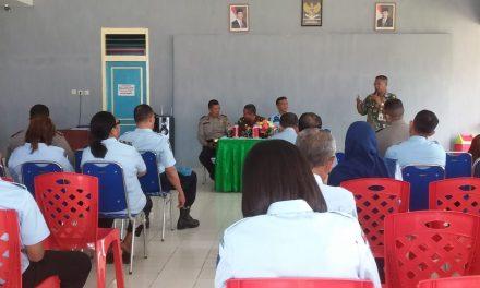 Sosialisasi Tim Satgas Saber Pungli Kabupaten Maluku Tengah di Rutan Kelas II B Masohi