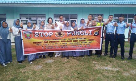 Sosialisasi Tim Satgas Saber Pungli Kabupaten Maluk Tengah di SMK Muhammadiyah Masohi