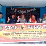 Sosialisasi Saber Pungli, Kanit Binmas Polsek P. P Banda Naira di Kantor PLN Banda Naira