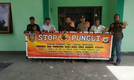 Sosialisasi Saber Pungli, Desa Air Besar di Kantor Seksi Pengelolaan Taman Nasional Wilayah I Seram Utara