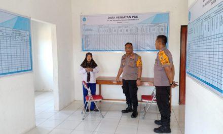 Kapolres Maluku Tengah Kunjungi Kantor Panwas Kecamatan Seram Utara Timur Seti