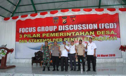 """Polres Maluku Tengah Adakan Acara """"Focus Group Discussion (FGD)"""""""