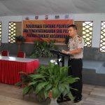 Sosialisasi Tentang Polmas Dan Penandatanganan SKB Pilar Polmas Tingkat Kecamatan